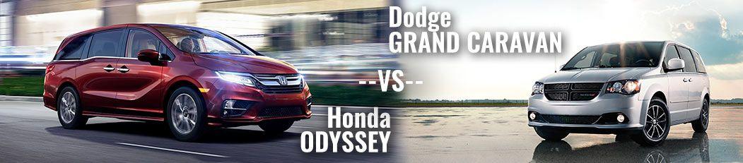 DCH Paramus Honda, Odyssey vs. Grand Caravan