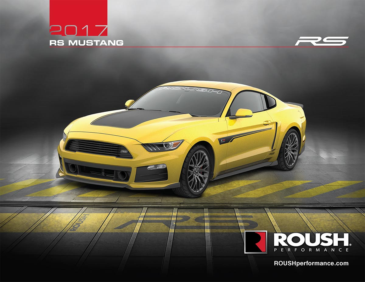 2017 RS Mustang Roush Florida 3.7L V6 305HP 280ft-lbs