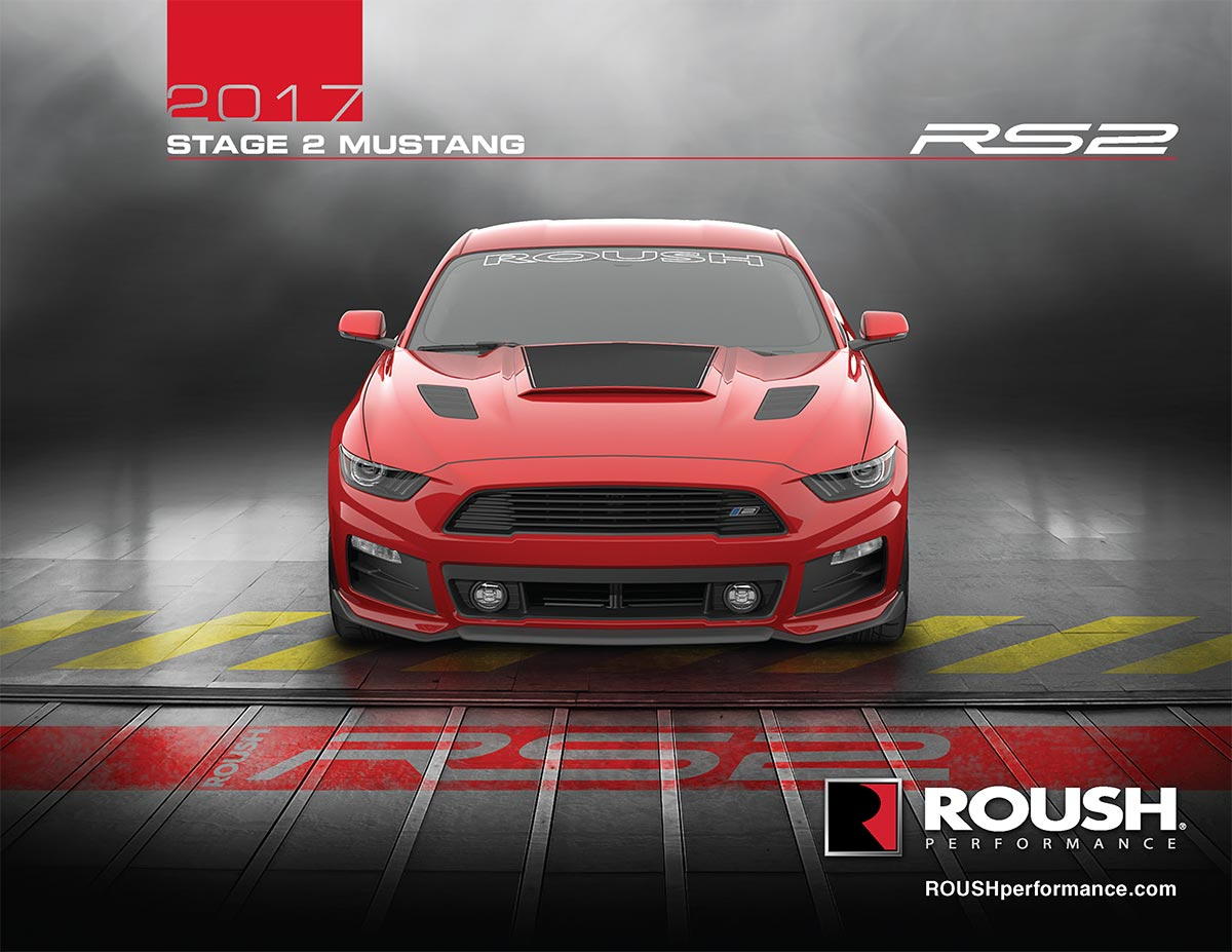 2017 ROUSH Stage 2 Mustang - RS2  - 5.0L V8 435HP 400ft-lbs | Roush Lakeland | Roush Florida