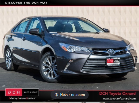 Toyota camry xle lease specials