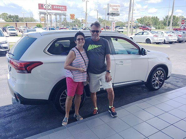 Sarasota Mitsubishi, Happy Customer Greg Volack