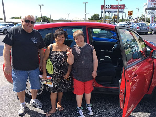 Sarasota Mitsubishi Happy customer