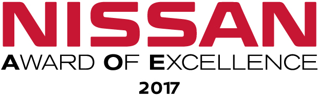 2017 Nissan award of excellence