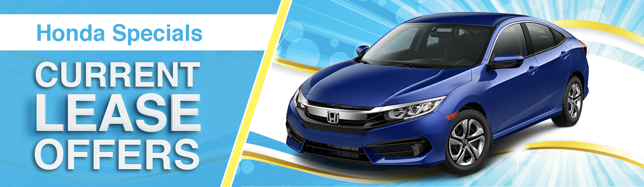 Nice Current Honda Lease Offers