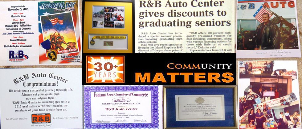 Welcome to R&B Auto Center, your dedicated used car dealership near Riverside, CA. Our family owned and operated used car dealership has been serving Inland ...