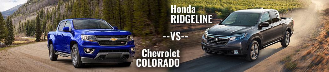DCH Paramus Honda, Ridgeline vs. Colorado