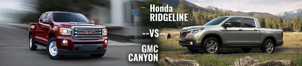 DCH Paramus Honda, Ridgeline vs. Canyon
