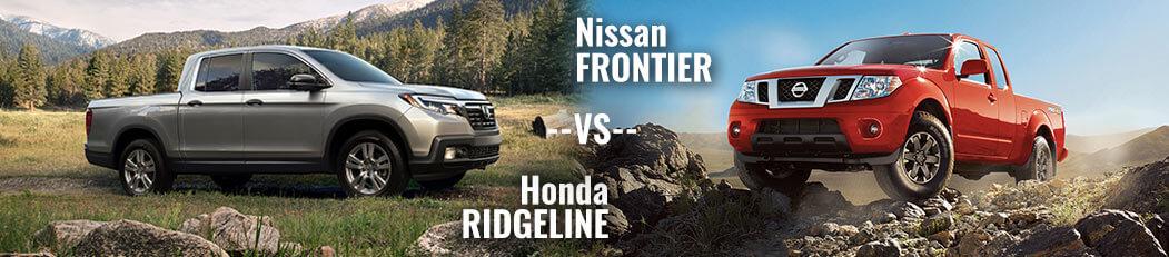 DCH Paramus Honda, Ridgeline vs. Frontier