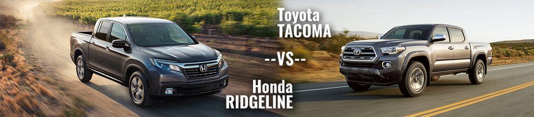 DCH Paramus Honda, Ridgeline vs. Tacoma