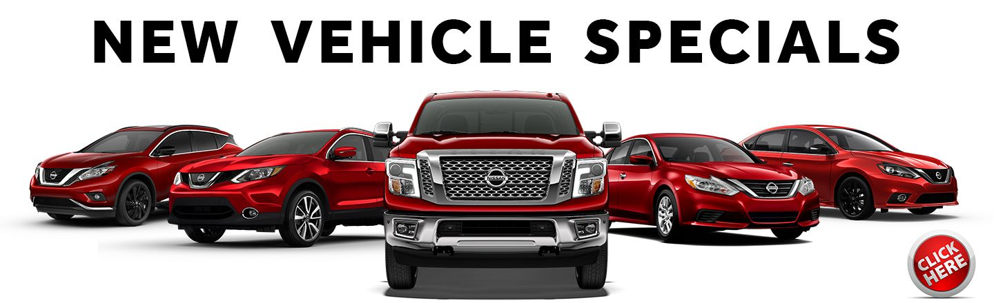 Nissan New Vehicle Specials