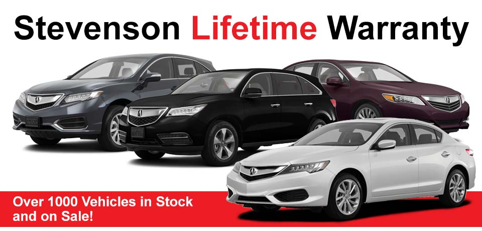 Stevenson Acura Lifetime Warranty - Acura extended warranty cost