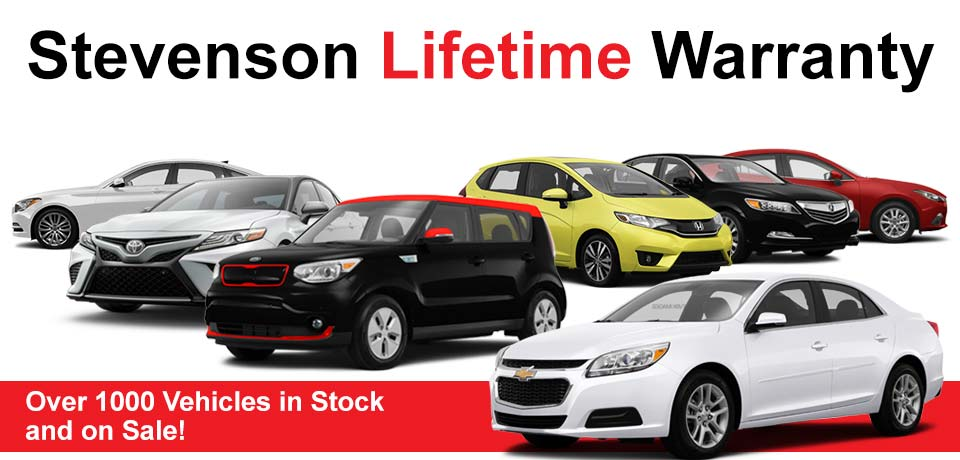 Stevenson Auto Lifetime Warranty