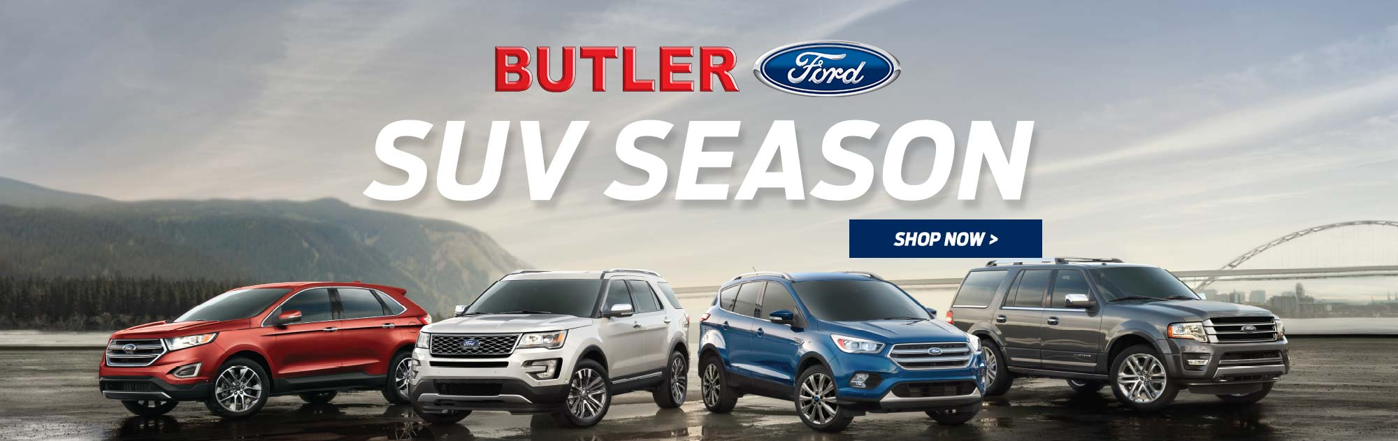 Suv season at butler ford
