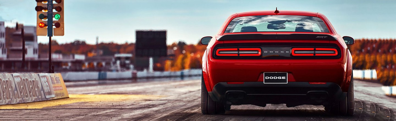Red 2018 Dodge challenger SRT Demon Blog