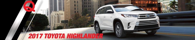 White 2017 Toyota Highlander