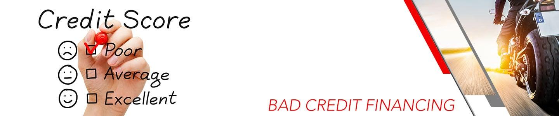 Bad Credit Financing & Sub-Prime Motorcycle Loans in Shawnee, KS