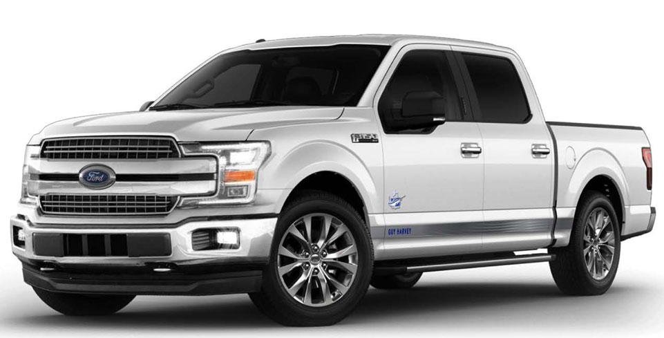 2018 FORD F150 GUY HARVEY EDITION
