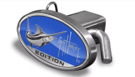 Guy Harvey trailer hitch insert.