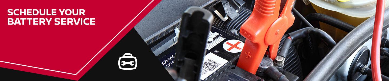 Elhart Nissan, battery service