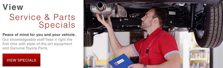 Amigo Toyota | Service Specials