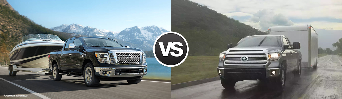 2017 Nissan Titan vs 2017 Toyota Tundra