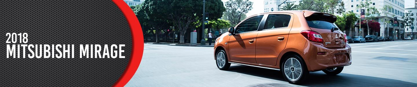 Gainesville Mitsubishi, New 2018 Mirage, orange