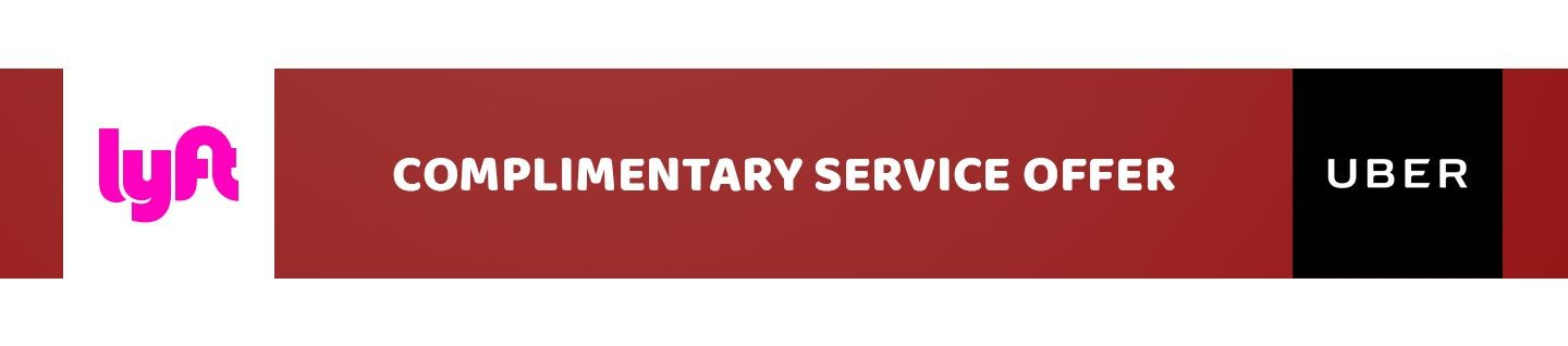 Complimentary Service Offer