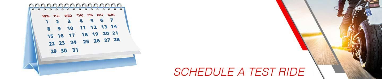 schedule a test ride