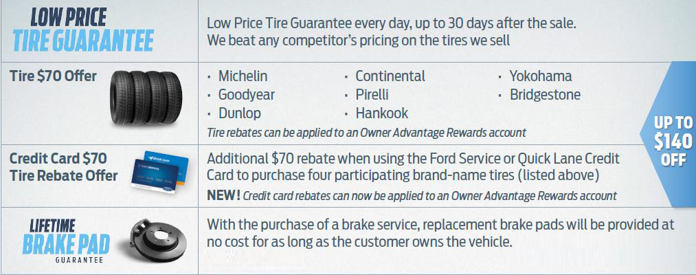 Lakeland Ford Low Price Tire Guarantee