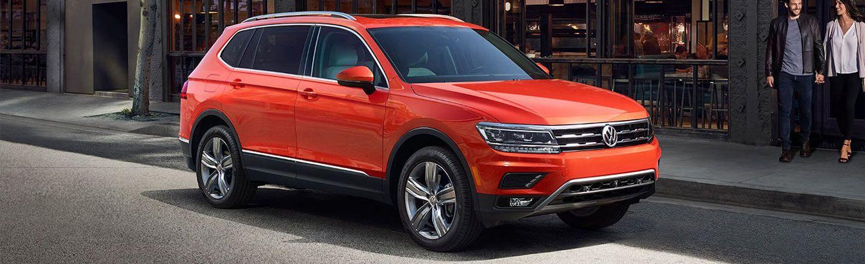 Ganley Bedford Imports, orange 2018 Volkswagen Tiguan