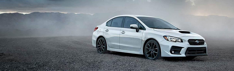 Ganley Bedford Imports, white 2018 Subaru WRX