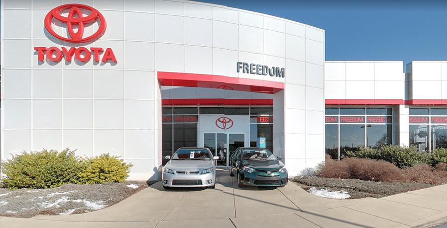 Toyota Dealership In Harrisburg, PA. Freedom ...