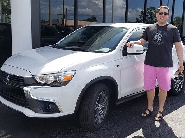 Sarasota Mitsubishi, happy customer, Outlander Sport