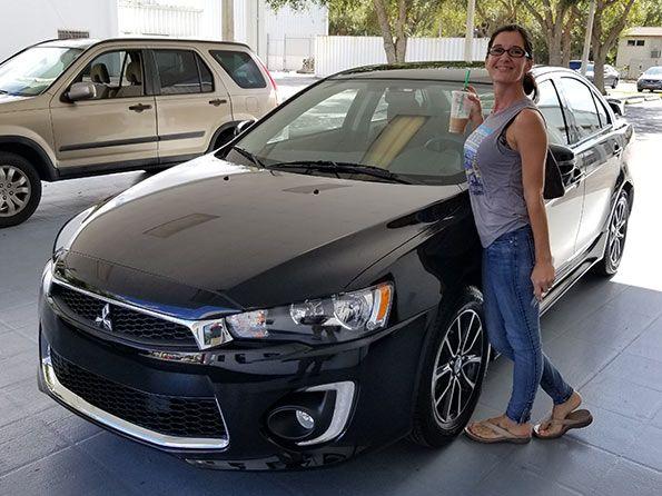 Sarasota Mitsubishi, Happy customer, Lancer