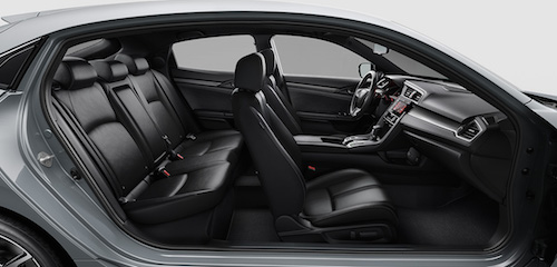 2018 Honda Civic Hatchback interior