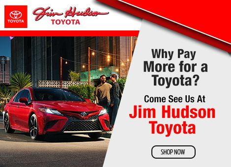 Jim Hudson Toyota will take 1000 off MSRP