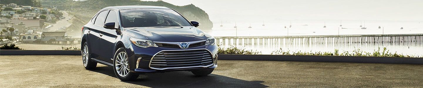 DCH Toyota of Oxnard, blue 2018 Avalon Hybrid