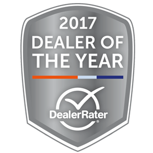 DealerRater Dealer of the Year Award