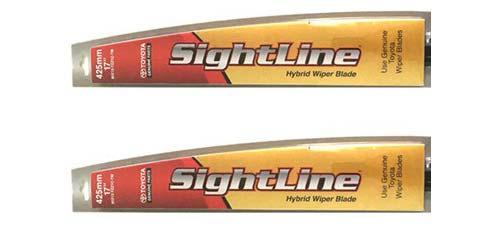 Toyota Wiper Blades - SightLine Wiper Blades
