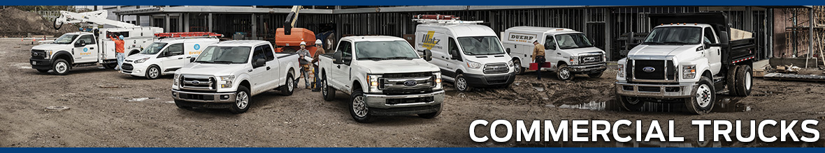 Commercial Trucks at James Hodge Ford