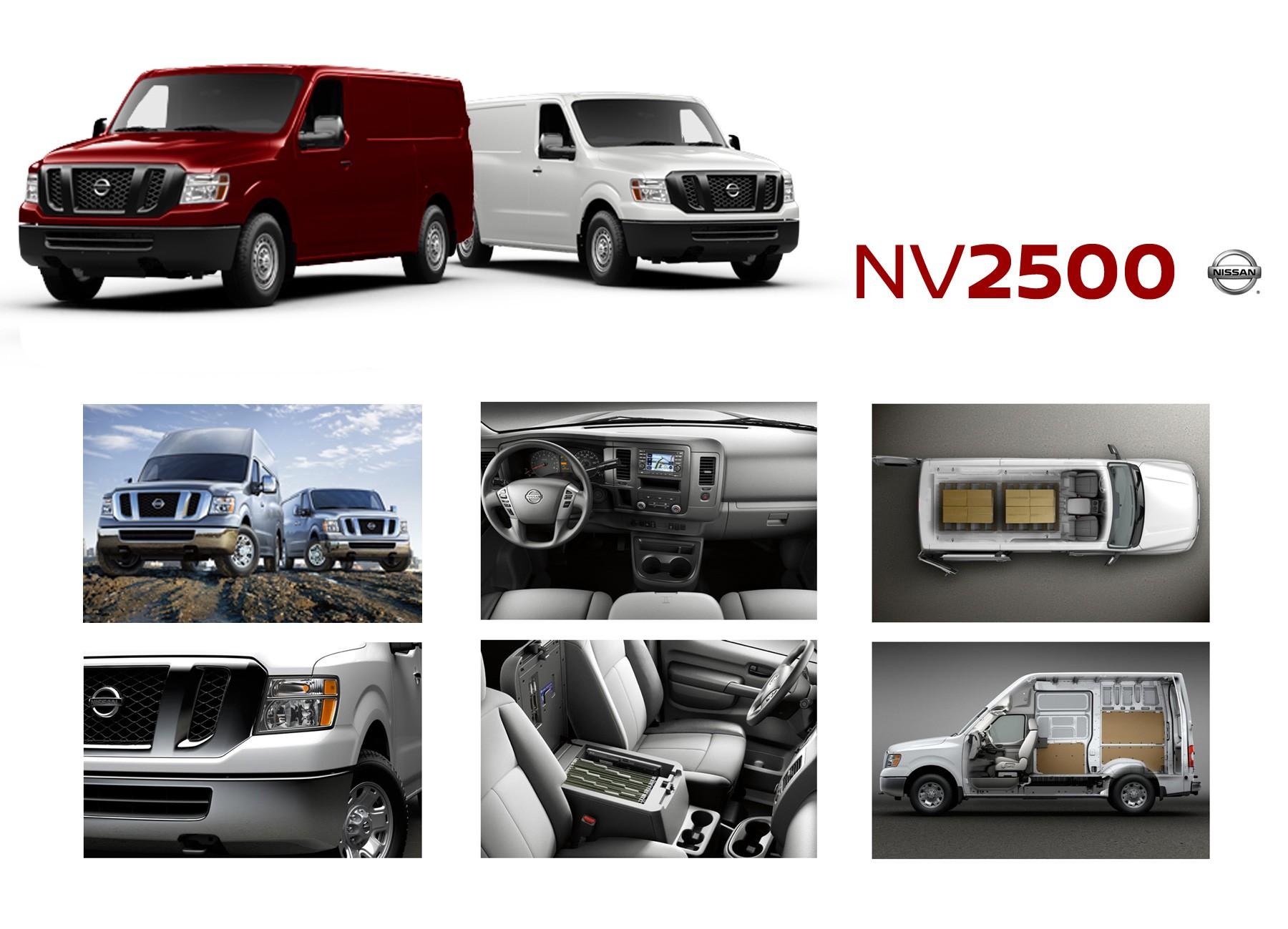New Nissan NV2500