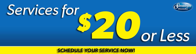Saratoga Honda Service Coupons