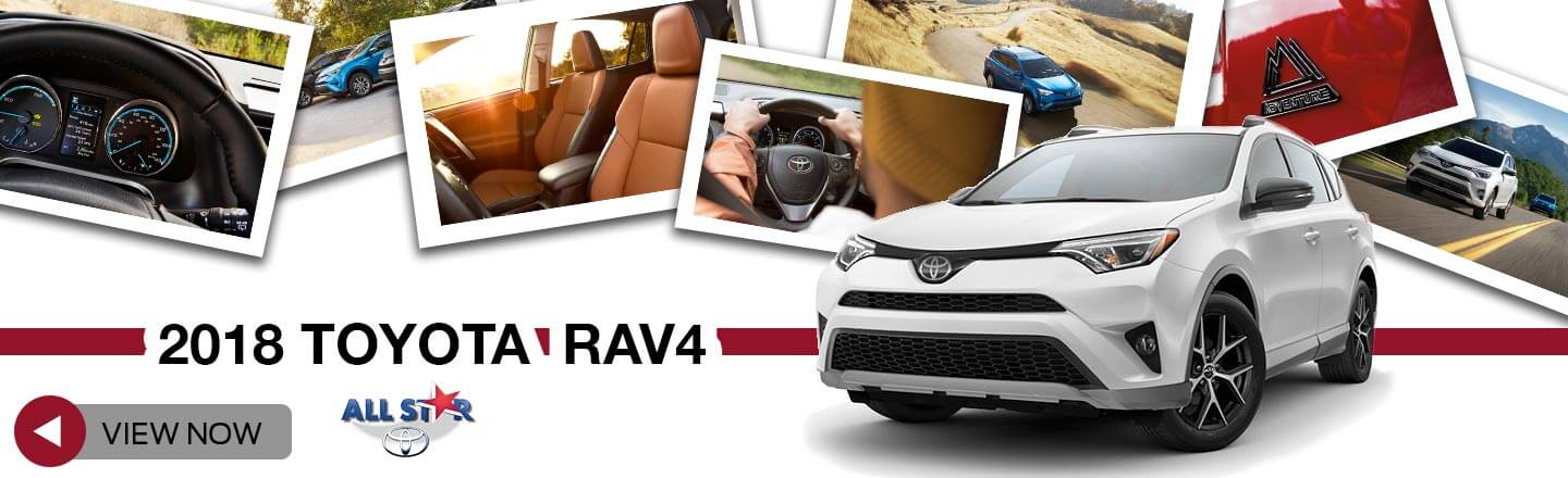 Attractive New 2018 Toyota Rav4 For Sale At All Star Toyota