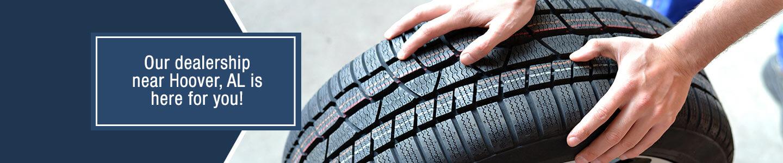 Jim Burke Hyundai, tire service