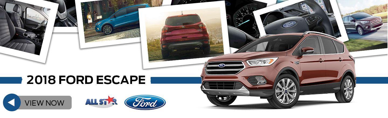 2018 Escape For Sale In Prairieville La All Star Ford Lincoln