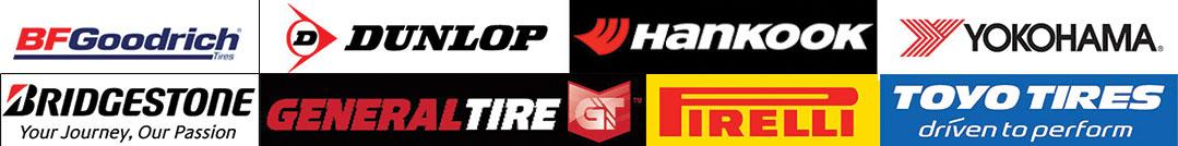 Tire brand Logos