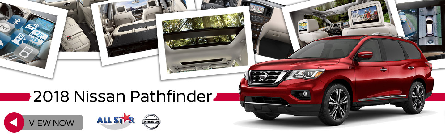 New 2018 Nissan Pathfinder At All Star Nissan