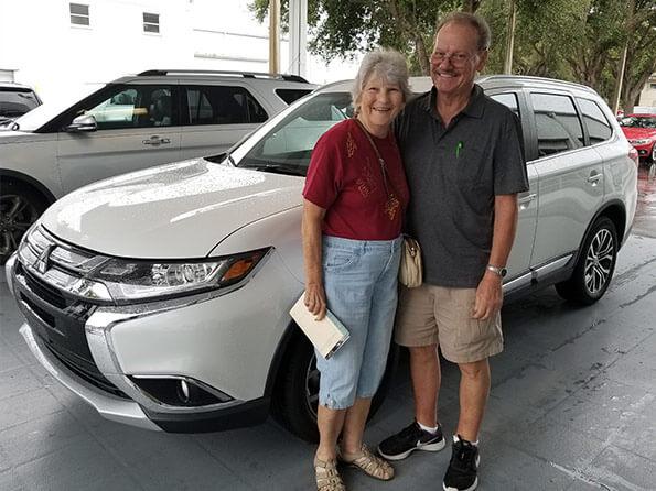Sarasota Mitsubishi, happy customers