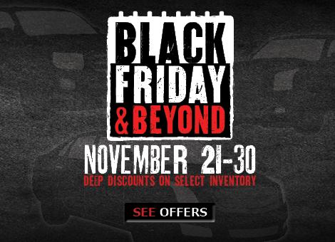 Black Friday Sales at Van Horn Cars
