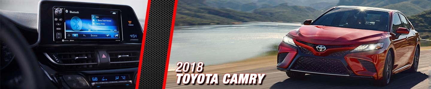 2018 Toyota Camry at Steven Toyota